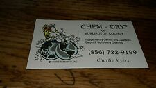 Vintage Chem Dry Burlington County New Jersey Carpet Cleaning Upholstery Magnet