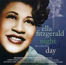 ELLA FITZGERALD - NIGHT AND DAY - THE COLLECTION - 2 CDS - NEW!!