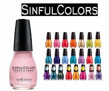 Lot of 10 Sinful Colors Finger Nail Polish Color Lacquer All Different Colors