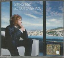 SIMPLY RED - So not over you - CDs SINGOLO NON SIGILLAT