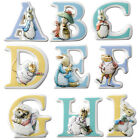 The World Of Beatrix Potter Character Ceramic Alphabet Letter Choice of Letter