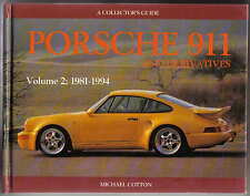 Porsche 911 & Derivatives Vol. 2 1981-94 by Cotton MRP Collectors Guide 961 959