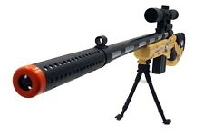 Military Kids Action Sniper Rifle Gun Flashing Toy Light Sound Army Weapons cool