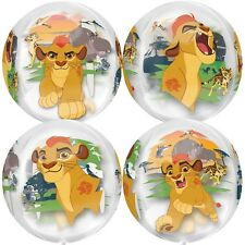 """Lion King Guard 16"""" Orbz Disney Amscan Licensed 4-sided Balloon Birthday Awesome"""