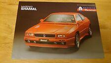 Maserati Shamal Brochure
