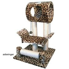 Cat Climbing Tree Condo Pet Furniture Tower House Bed Scratcher Toy