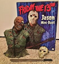 Jason Voorhees 2004 Mini Bust Friday the 13th Part 7 Neca statue figure sideshow