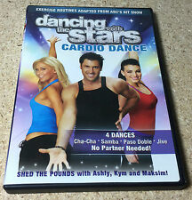 Dancing with the Stars Cardio Dance (DVD, 2007)