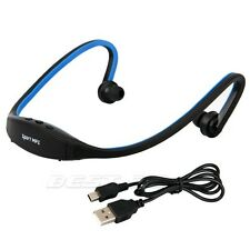 USB 2.0 Mini Sports Headset Music MP3 Player Support 16GB Micro SD /TF