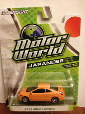Greenlight MOTOR WORLD  2011 Honda Civic SI   orange