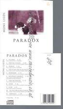 CD--MONI LIEDL--PARADOX