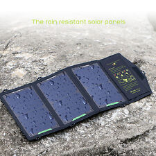 5V15W Foldable Sunpower Solar Panel Charger Pack For mobile phone