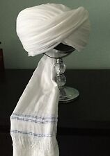 Cotton Turban Imama Pagri Cloth Muslim Islamic Safa Sunnah Dastar 10 feet