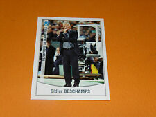 238 DIDIER DESCHAMPS OLYMPIQUE MARSEILLE OM PANINI FOOT 2011 FOOTBALL 2010-2011