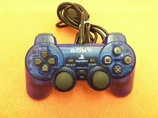 *No Rumble* Official OEM Sony PlayStation 2 PS2 DualShock Controller Blue