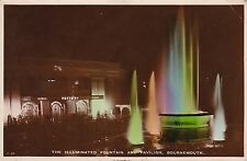 The Illuminated Fountain & Pavilion, BOURNEMOUTH, Hampshire RP
