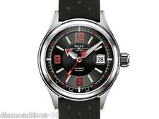 NEW BALL FIREMAN RACER CLASSIC 42MM STAINLESS STEEL MEN'S WATCH NM2288C-SJ-SL