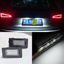 2 Error Free 3 SMD LED License Plate Light Canbus For Audi A4 B8 A5 Q5 S5 TT S4