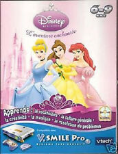 GROS 003 // VTECH V.SMILE PRO JEU DISNEY PRINCESSE 6 /9ANS NEUF emballage abimé