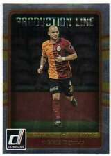 2016 Donruss Soccer Production Line #32 Wesley Sneijder Galatasaray AS