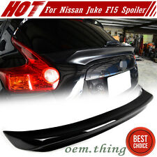 UNPAINTED FOR Nissan JUKE F15 SUV Hatchback Rear Trunk Spoiler 12-16 New