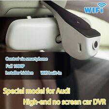 Audi A1.A3.A4L.A5.A6L.A7.A8.Q3.Q5 serie CAR DVR FULL HD 1080P Dash Cam WiFi App