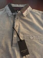 Mans Steel And Jelly Polo Shirt