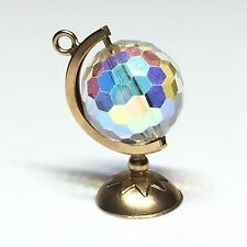 9ct Gold Spinning Globe Charm