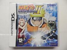 jeu NARUTO NINJA DESTINY II 2 sur nintendo DS en francais game COMPLET - TBE