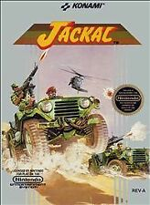 JACKAL NINTENDO NES VIDEO GAME CARTRIDGE TESTED CLEAN