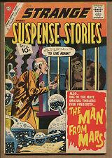 Strange Suspense Stories #56 - The Man From Mars! - 1961 (Grade 6.5) WH