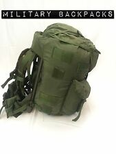 Large Used Combat Fieldpack Hunting Pack Alice Rucksack w Load Bearing Vest Wood