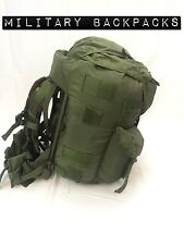 Used Large Combat Field pack Hunting Pack Alice Rucksack OD green