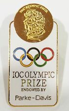 SYDNEY OLYMPIC GAMES 2000 IOC OLYMPIC PRIZE ENDOWED BY PARKE DAVIS PIN BADGE 477