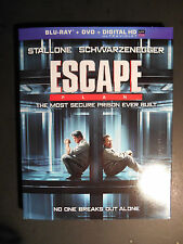 Escape Plan (Blu-ray/DVD, 2014, 2-Disc Set) W/Slipcover