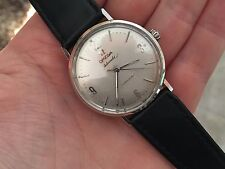 Vintage Omega Seamaster Stainless Steel Automatic 570 33mm Watch