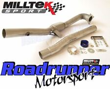 "Milltek Golf MK6 R De Cat Downpipe Exhaust Stainless SSXVW216 (Fits 3"" Race Sys)"