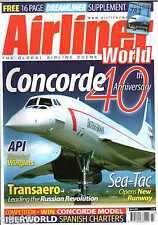 Airliner World 2009 March Air Malawi,Iberworld,Transaero,Concorde