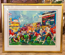 """""""In the Pocket"""" (Redskins vs Broncos) by LeRoy Neiman Year 1988 Limited Edition"""