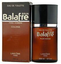 (438,57EUR/100ML) VINTAGE LANCOME - BALAFRE BRUN 228ML EDT EAU DE TOILETTE NEU