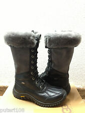 UGG ADIRONDACK II TALL BLACK GREY Boot US 9 / EU 40 / UK 7.5 - NEW