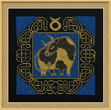 Zodiac Sign Taurus Cross Stitch Kit - Riolis - (R1202) - 25cm x 25cm