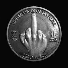 Zero Fucks Given Coins! The Finger 10-Pack - NEW