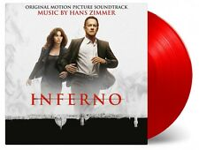 Inferno -  Hans Zimmer 2x 180g RED COLOURED  vinyl LP Da Vinci Code
