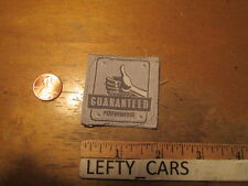 SAVANE GUARANTEED PERFORMANCE EMBROIDERED SMALL WOVEN LABEL TAG - SEW ON TYPE