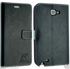 For Samsung Galaxy Note i9220 Leather Wallet Case Cover Book Flip GT-N7000 Pouch