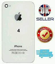 NEW Replacement Back White Glass Cover/Rear Battery Cover FOR APPLE iPhone 4