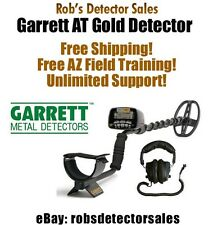 "Garrett AT Gold ""Waterproof"" Metal Detector for Gold, Coins/Relics and Treasure"