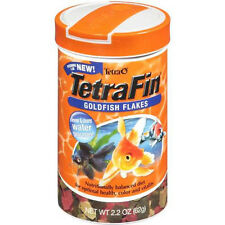TETRA FIN TETRAFIN  GOLDFISH FLAKES 2.2 OZ AQUARIUM GOLD FISH FOOD FREE SHIP USA