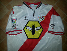 MATCH WORN RAYO VALLECANO SHIRT SPAIN LA LIGA MADRID CAMISETA UEFA 2000-2001